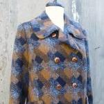 1960's Wool Double Breasted Coat