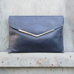 1970s Phillippe Leather Clutch